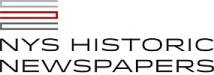 NY State Historic Newspapers logo