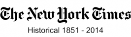 New York Times Historical 1851-2014 logo